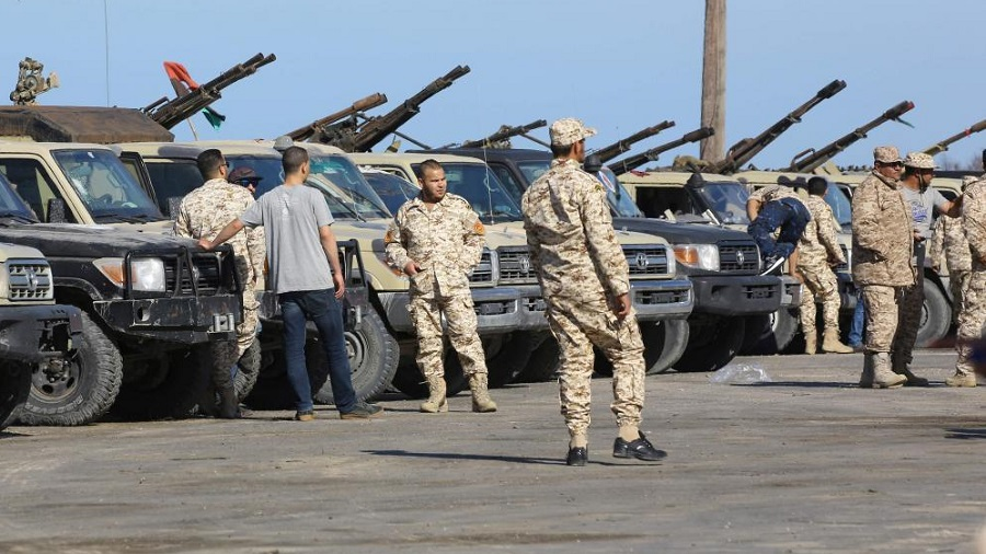 Libye forces loyales