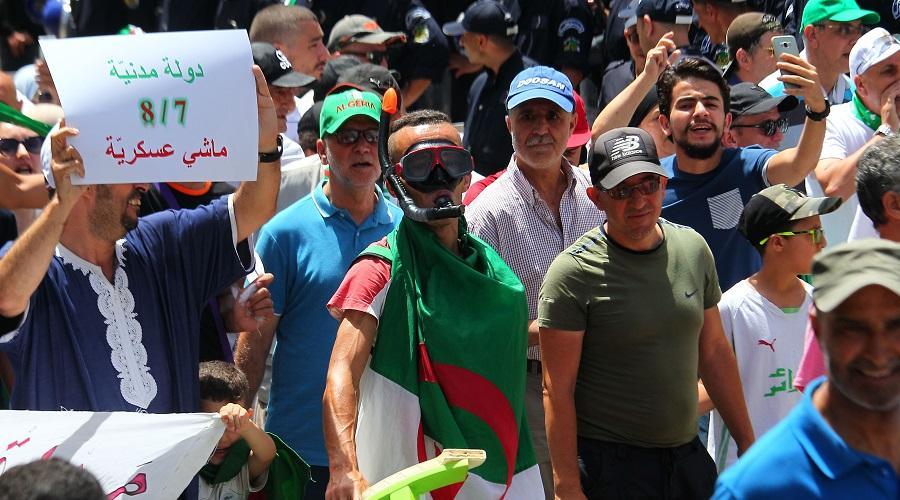 hirak peuple algérien