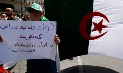 Selon l'étude d'un institut américain : «Gaïd-Salah doit quitter la vie politique»