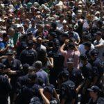 manifestations police