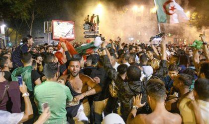 Qualification des Verts en demi-finale de la CAN : des Algériens manifestent leur joie en France