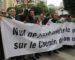 Les avocats marchent à travers le pays etscandent en arabe «Etat civil et non militaire»