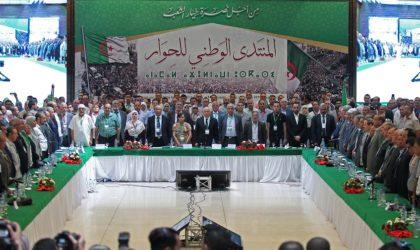 Conférence du dialogue : appels à la libération des détenus et au départ de Bedoui