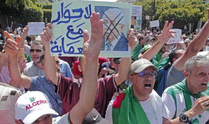 Les manifestants fustigent le dialogue de Bensalah et exigent son départ