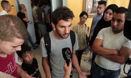Les étudiants démentent toute appartenance politique et dénoncent les mensonges des médias
