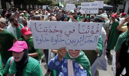 24e vendredi de marche : les manifestants réclament le départ du chef d'état-major de l'ANP