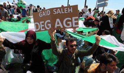 Les étudiants répondent à Gaïd-Salah : «Nous exigeons un Etat civil !»