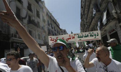 Marche imposante à Alger en ce 28e vendredi