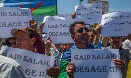 Les manifestants somment Gaïd Salah de partir immédiatement