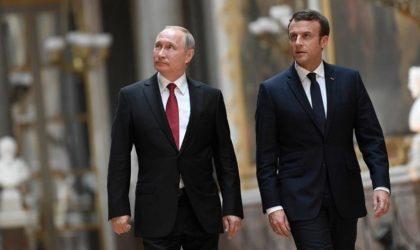 Que se sont dit Macron et Poutine sur l'Algérie lors de leur tête-à-tête ?