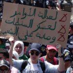 marche étudiants Alger