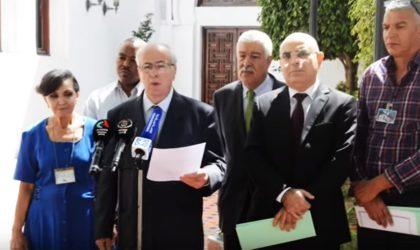 Le panel de Karim Younès va s'appuyer sur un comité des sages