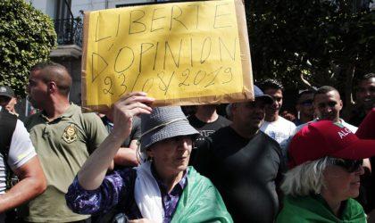 27e marche du vendredi : les manifestants exigent la libération des détenus politiques