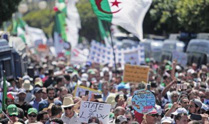 Le peuple réclame le départ de Gaïd-Salah