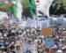 Marée humaine à travers le pays pour exiger le départ des symboles du système