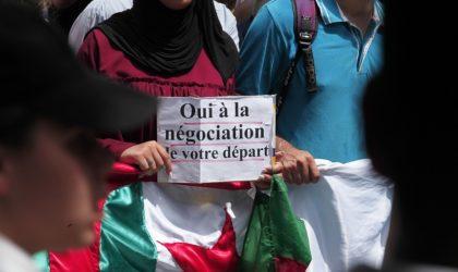 24e marche des étudiants : «Nous sommes prêts à vous laisser négocier votre départ»