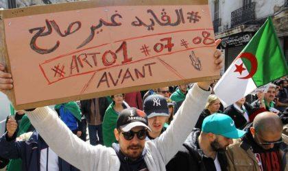 Il n'y aura pas de printanisation de l'Algérie