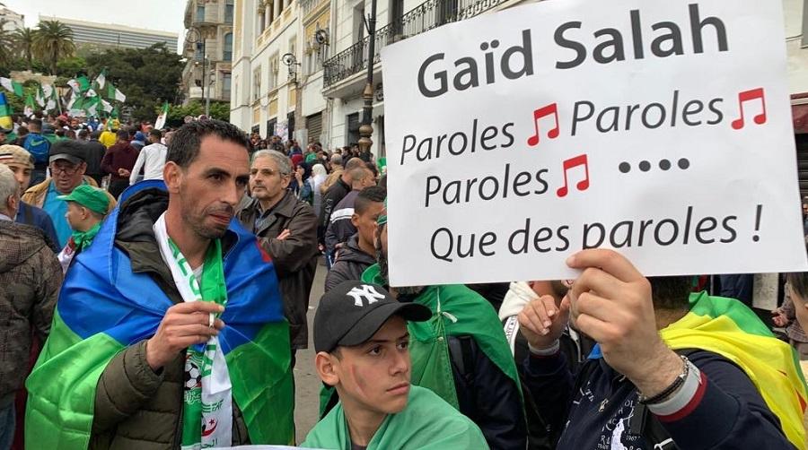 Gaïd-Salah mépris mensonges