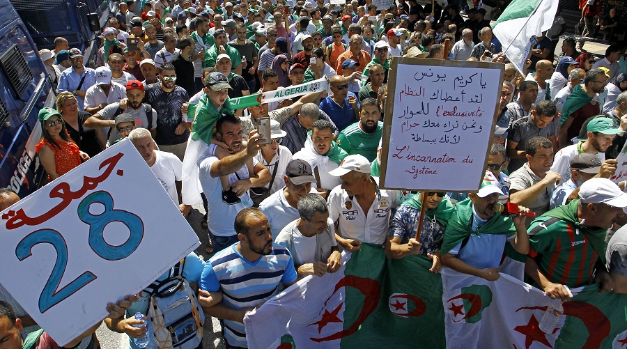 Gaïd-Salah présidentielle