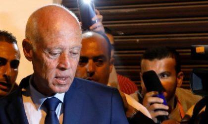 Le candidat tunisien Kaïs Saïed : «Le destin de la Tunisie est lié à l'Algérie»