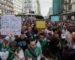 Les étudiants manifestent massivement contre la présidentielle du 12 décembre