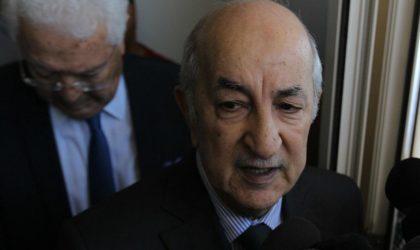 Graves accusations de la direction de campagne de Tebboune contre le candidat Mihoubi