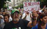 Rassemblement des Algériens contre l'élection présidentielle devant le consulat de Nantes