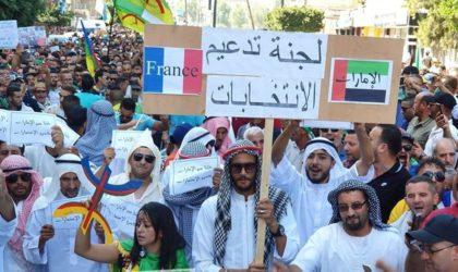 Des manifestants se déguisent en Emiratis : un message clair à Gaïd-Salah