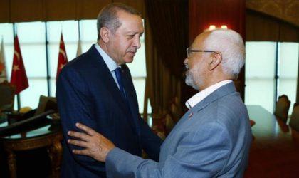 Erdogan reçoit Ghannouchi pour lui tracer la feuille de route à suivre