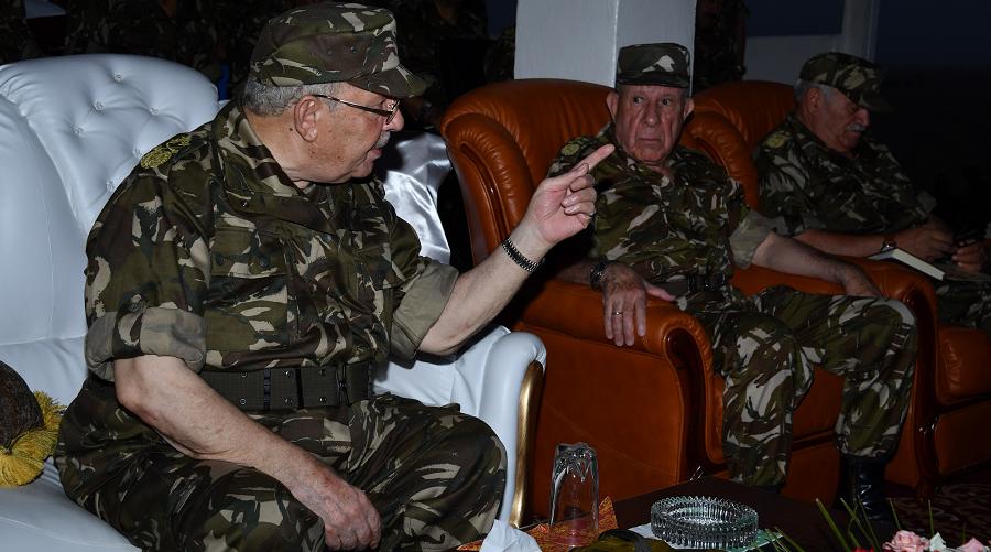 Gaïd-Salah chef d'état-major