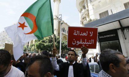 Les avocats marchent à Alger : «Non à la justice du téléphone !»