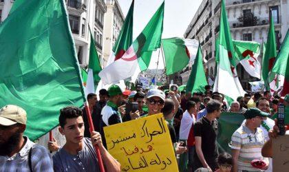 Alger en ce 44e vendredi de manifestation
