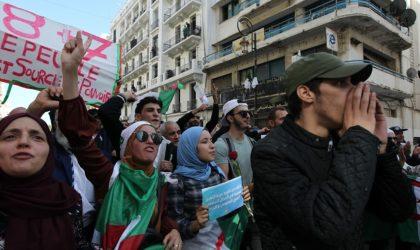 46e mardi de manifestation des étudiants à Alger