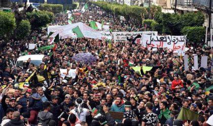Marée humaine à Alger en ce 46e vendredi de manifestation