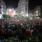 Alger protestation