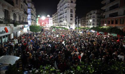 Manifestations nocturnes à Alger et dans cinq autres wilayas contre la présidentielle