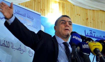 Abdelaziz Belaïd est certain : «C'est moi le futur président de la République !»