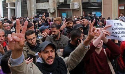 Colère après la condamnation des détenus d'opinion par le tribunal de Sidi M'hamed