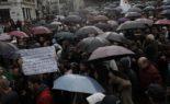 Sous la pluie, les manifestations se poursuivent à Alger