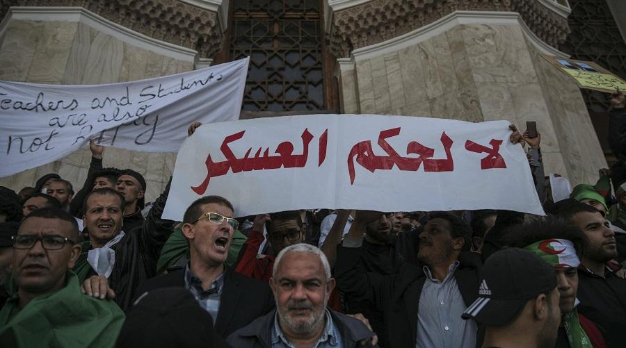 manif Révolution du 22 Février