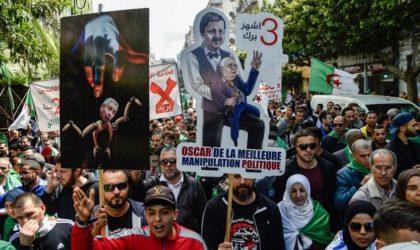 41e vendredi : les manifestants crient à l'unisson leurs slogans contre le pouvoir