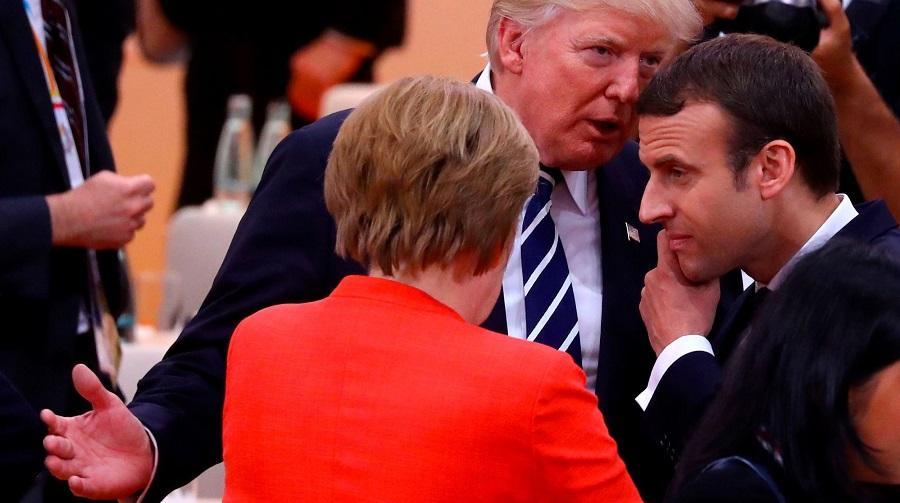 Macron capitales occidentalescapitales occidentales