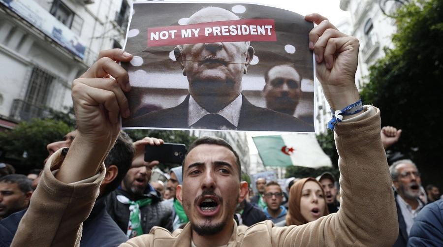Manif «L'Algérie wins»