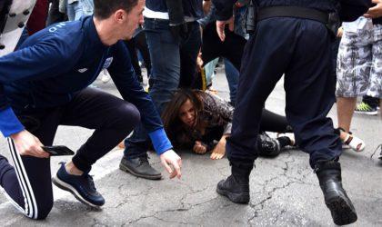 L'agression violente de manifestants à Oran pourrait ne pas être un «dérapage»