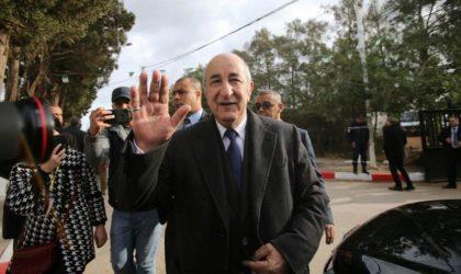 Le discours d'investiture d'Abdelmadjid Tebboune analysé à partir de l'étranger