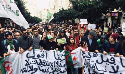Alger : les étudiants et les citoyens ensemble en ce 45e mardi de marche
