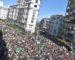 Marée humaine à Alger à la veille de la mascarade du 12 décembre