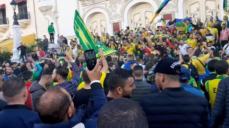 Tunisie supporters