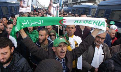 55e vendredi de manifestations contre le pouvoir à Alger