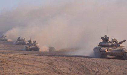 La mobilisation de l'ANP sur la frontière avec la Libye vue par les Saoudiens